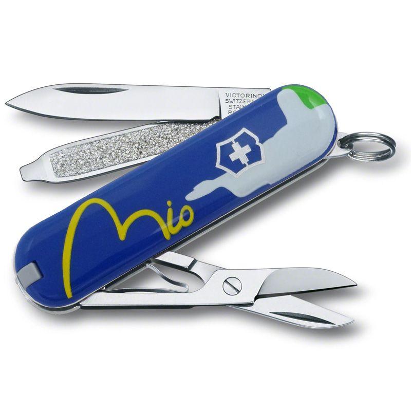 Canivete Victorinox Classic Edição Limitada Blue Rio 7 funções 5.8 cm 0.6223.2RIO2