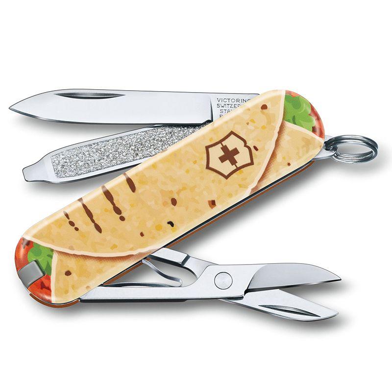 Canivete Victorinox Classic Mexican Tacos Edição Limitada 2019 0.6223.L1903