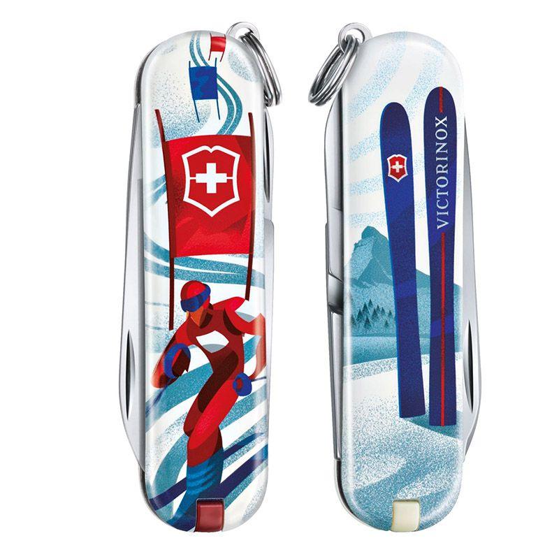 Canivete Victorinox Classic SD Ski Race Edição Limitada 2020 0.6223.L2008