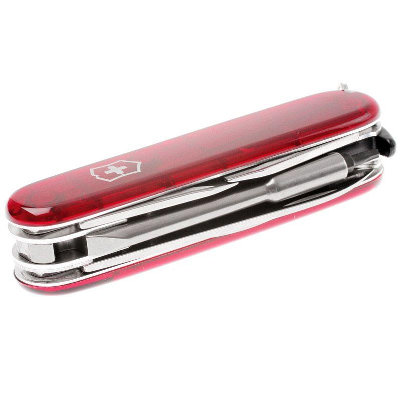 Canivete Victorinox Cyber Tool 29 funções vermelho translucido 9.1 cm 1.7605.T