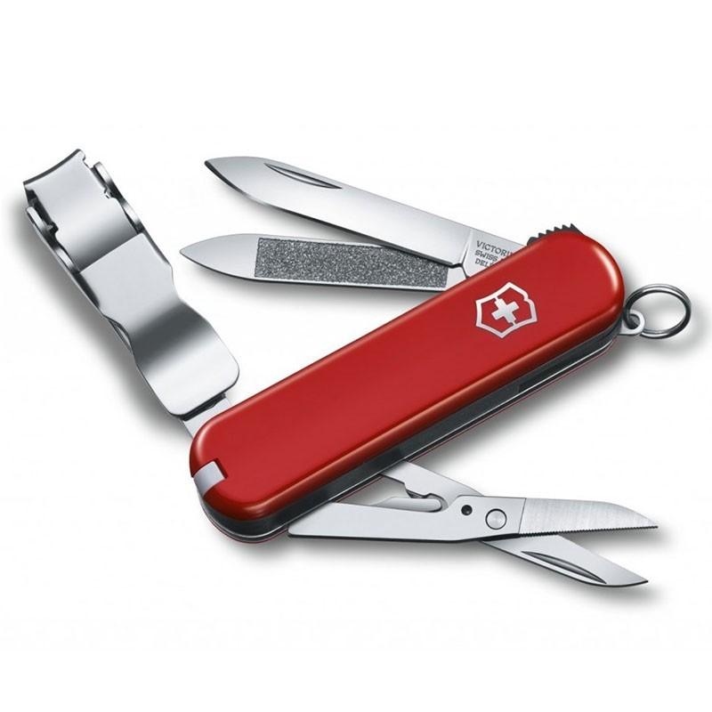 Canivete Victorinox Delemont Nailclip 580 8 funções 6,5 cm 0.6463