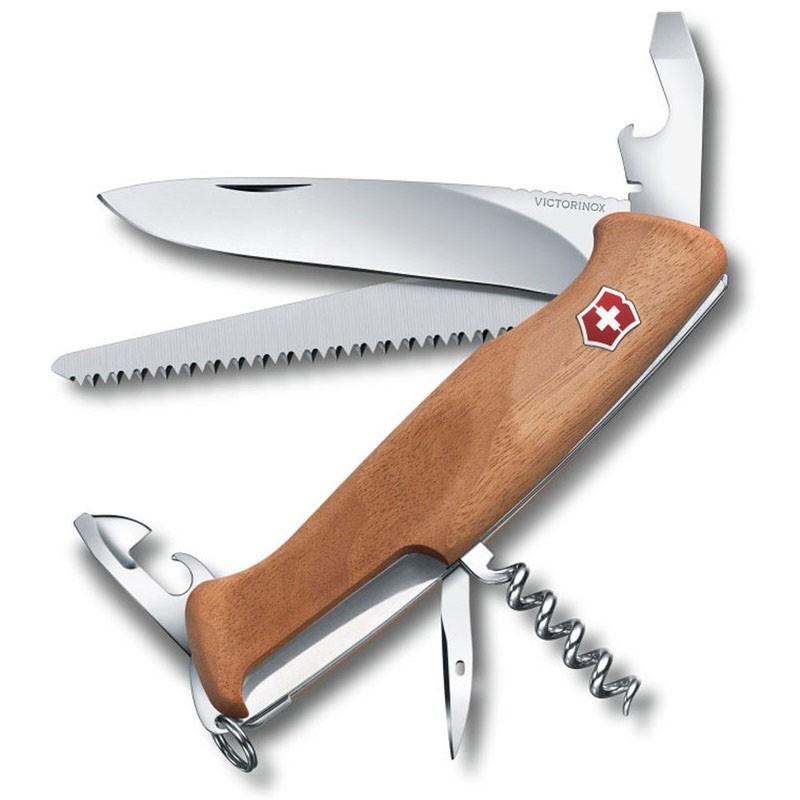 Canivete Victorinox Delemont RangerWood 55 10 funções 13 cm 0.9561.63