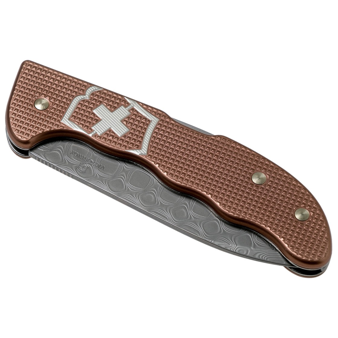 Canivete Victorinox Hunter Pro Alox Damasco Edição Limitada 2020  0.9410.J20