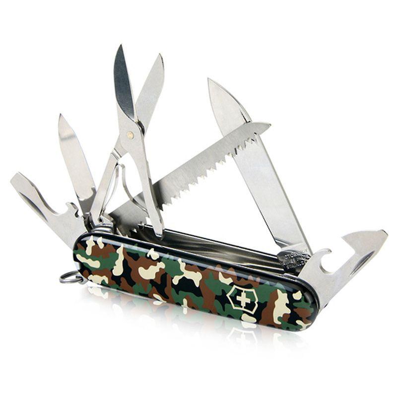 Canivete Victorinox Huntsman 15 funções Camuflado 9.1 cm 1.3713.94