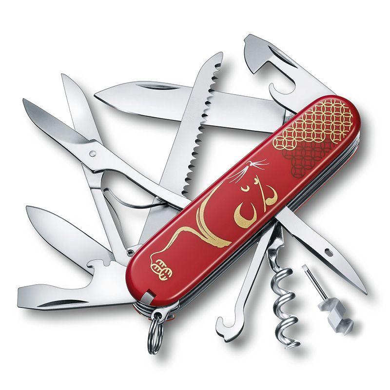 Canivete Victorinox Huntsman Ed Ltda Ano do Rato 1.3714.E9