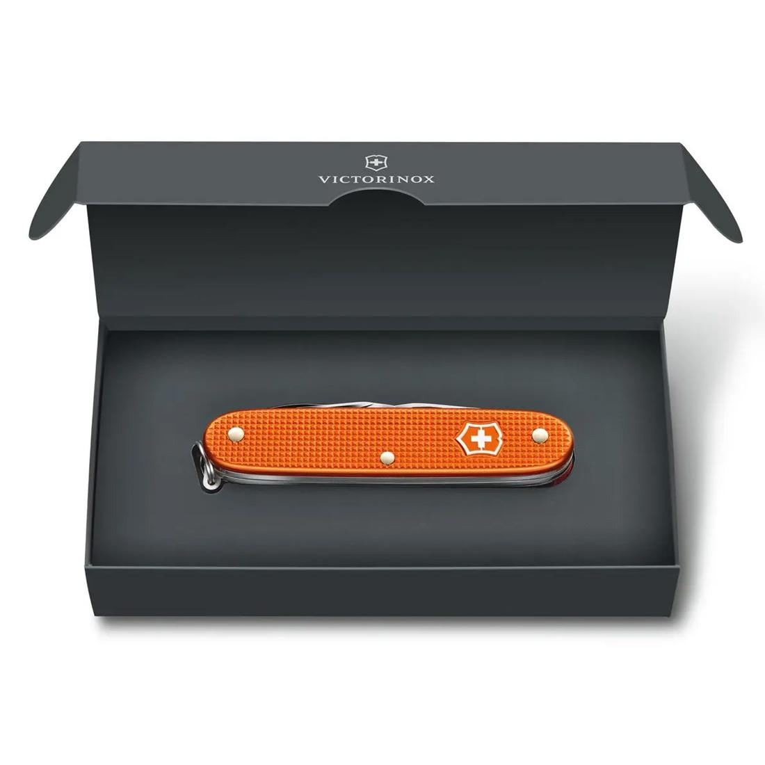 Canivete Victorinox Pioneer X Alox Laranja Edição Limitada 2021 0.8231.L21