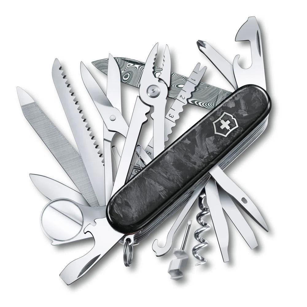 Canivete Victorinox SwissChamp Damasco Edição Limitada 2021 1.6791.J21