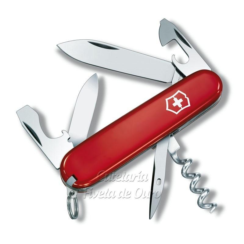 Canivete Victorinox Tourist 12 funções 8,4 cm  0.3603