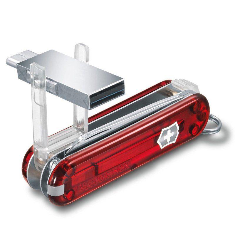 Canivete Victorinox Work  Pen Drive 16 GB  4.6235.TG16B1