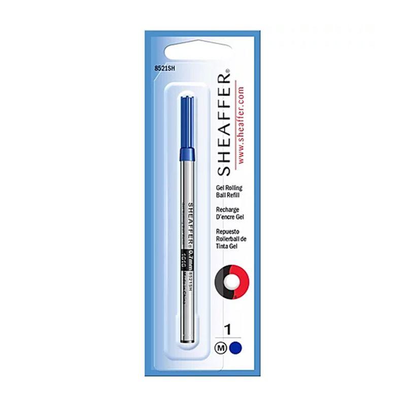 Carga para caneta Sheaffer Cross em Gel Azul Rollerball 8521SH