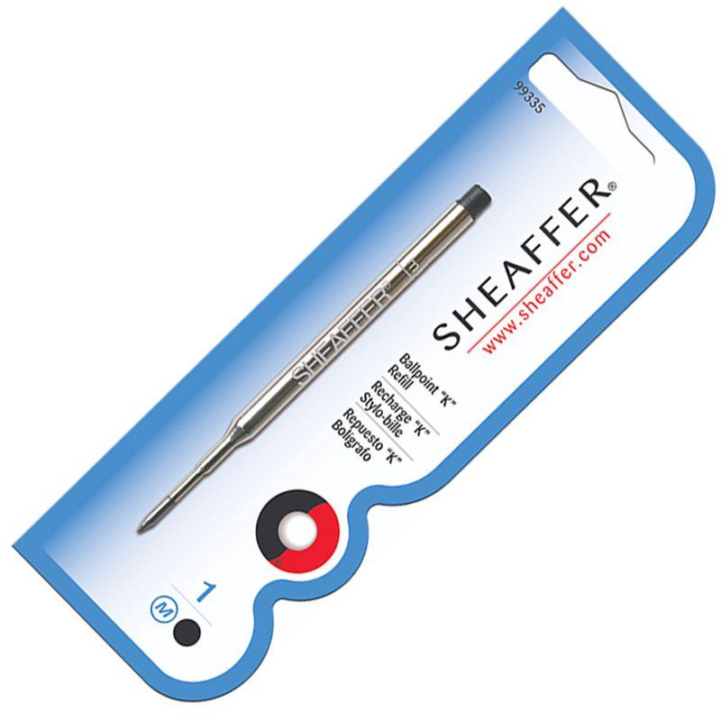 Carga Sheaffer esferográfica K preto 99335