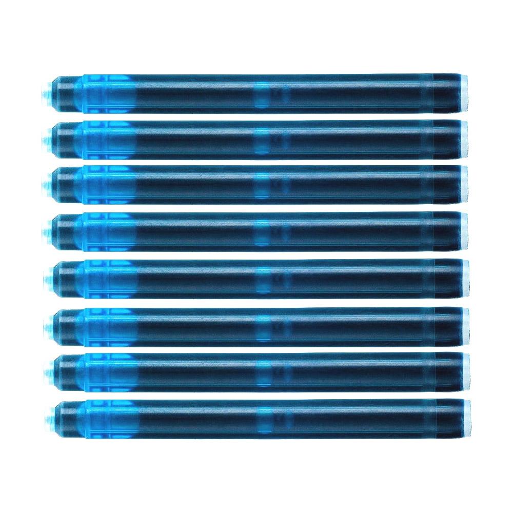 Cartucho Waterman Azul Oceano para caneta tinteiro 8 un S0110920
