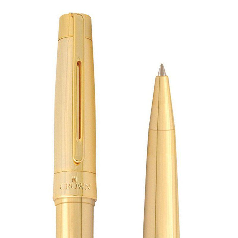 Conjunto de Canetas Crown President Esferográfica e Tinteiro YW49840O