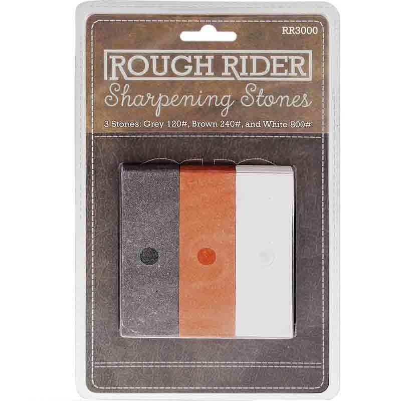 Conjunto de pedras de afiar Rough Rider RR3000