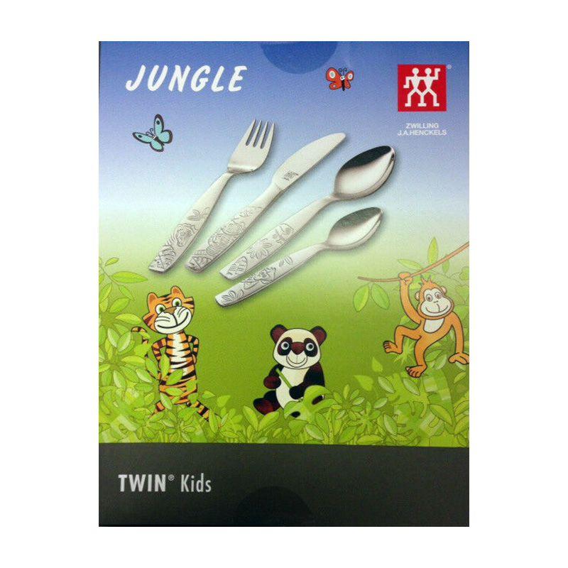 Conjunto faqueiro infantil Zwilling Selva 4 peças 71356-100