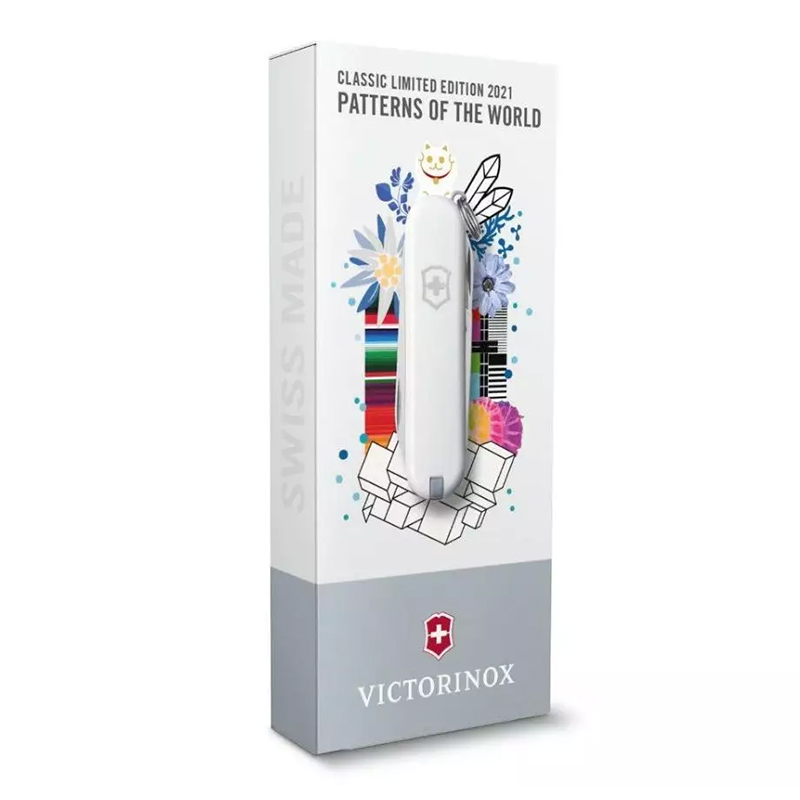 Canivete Victorinox Classic SD Dynamic Floral Edição Limitada 2021 0.6223.L2107