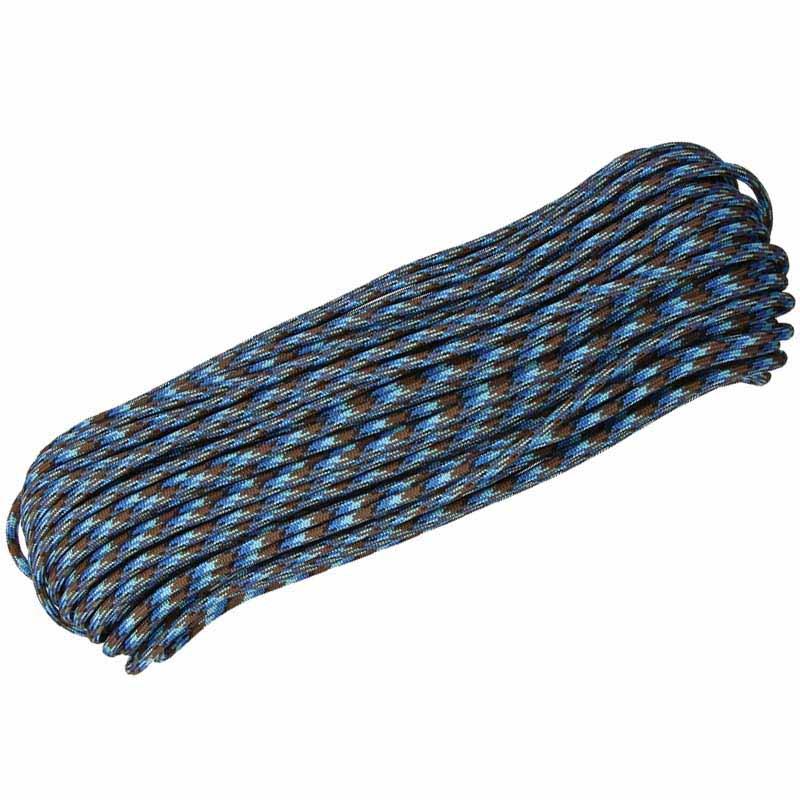 Corda de Nailon Paracord 550 Abyss 30 metros ATP50