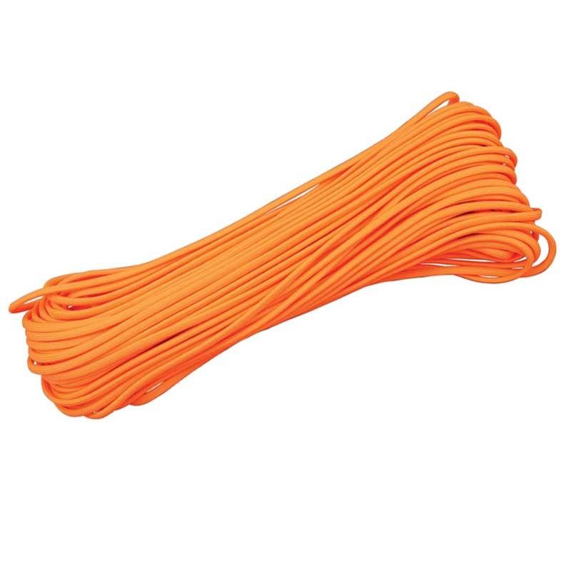 Corda de Nailon Paracord 550 Neon Orange preço por metro ATSS17