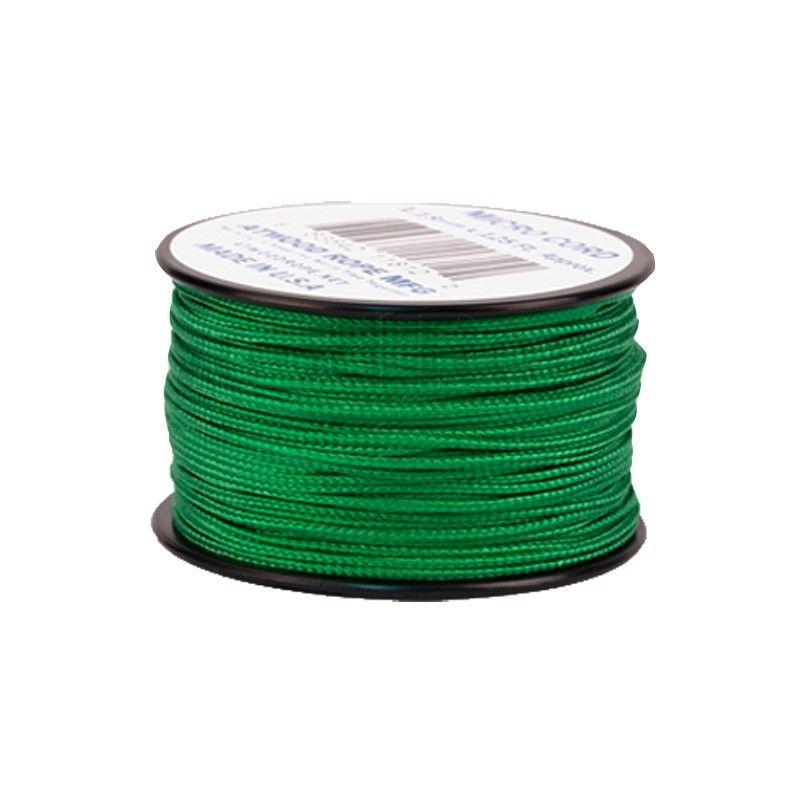 Cordão de Nailon Micro Cord Green 37 metros ATMS06