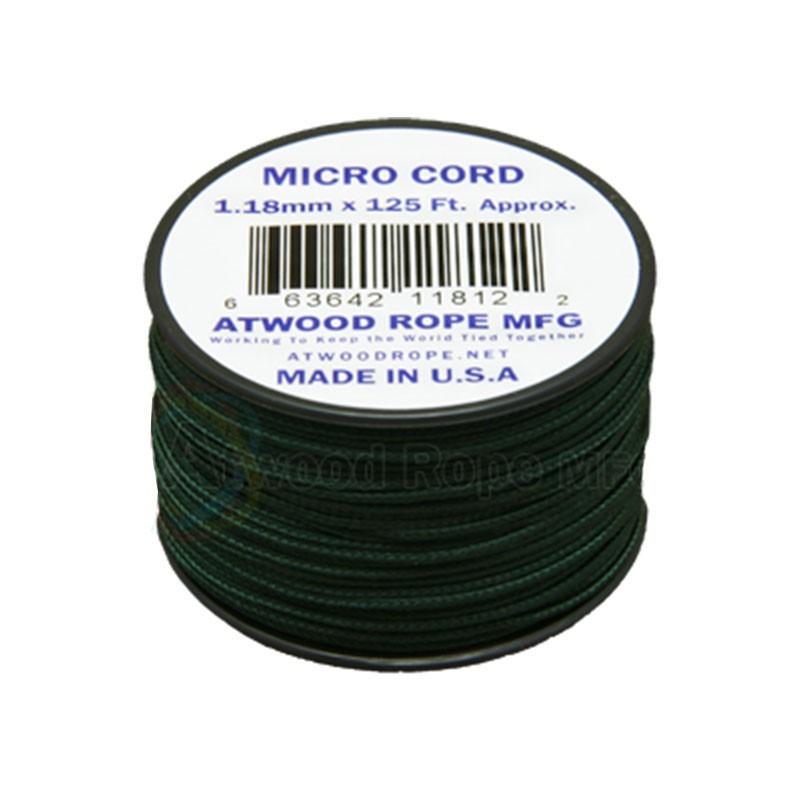 Cordão de Nailon Micro Cord Hunter 1.18 mm x 37 m ATMS15