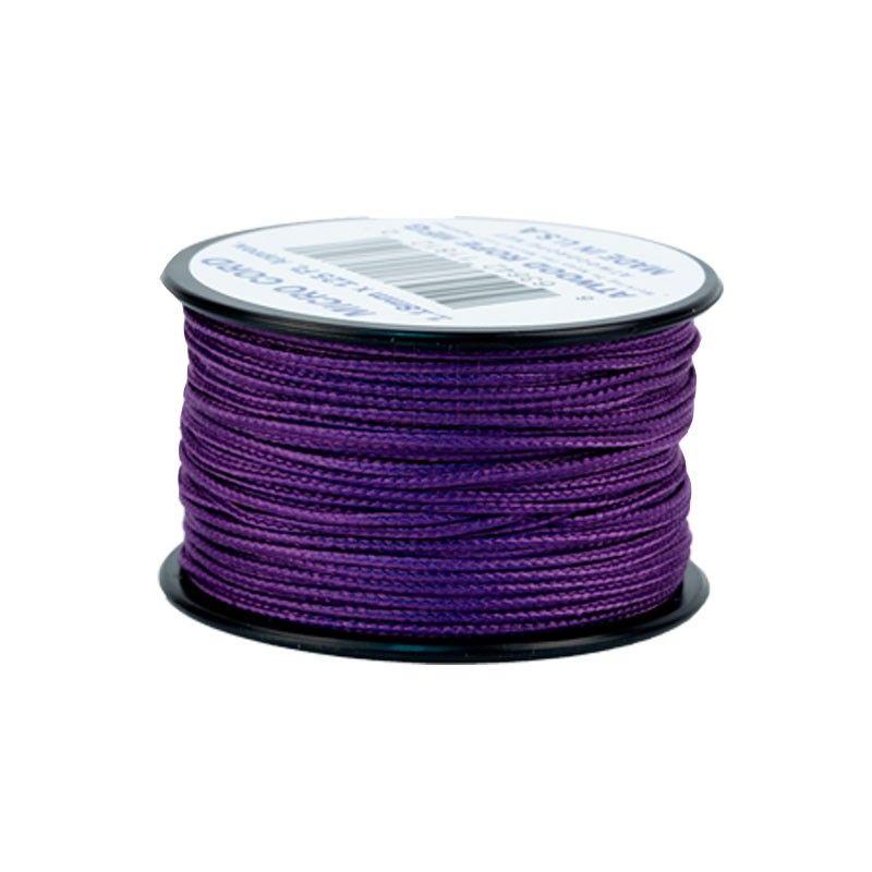 Cordão de Nailon Micro Cord Purple 37 metros ATMS05