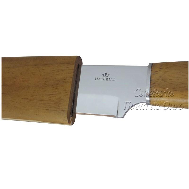 """Faca Imperial Hitita 7"""" com bainha de madeira IC007"""