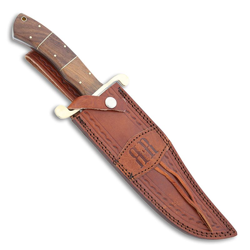 Faca Rough Rider Bowie Wood 37 cm RR2007