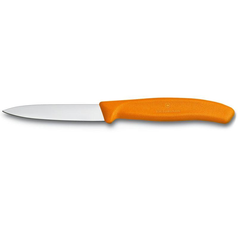 Faca Victorinox laranja para legumes lamina 8 cm 6.7606.L119