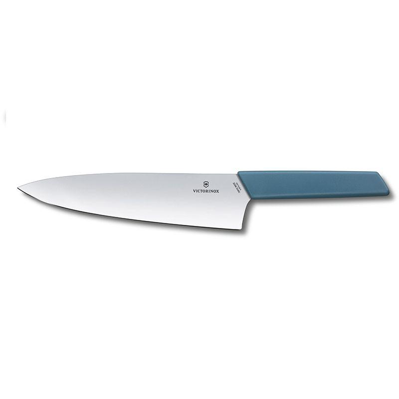 Faca Victorinox Swiss Modern Chef Azul 20 cm 6.9016.202B