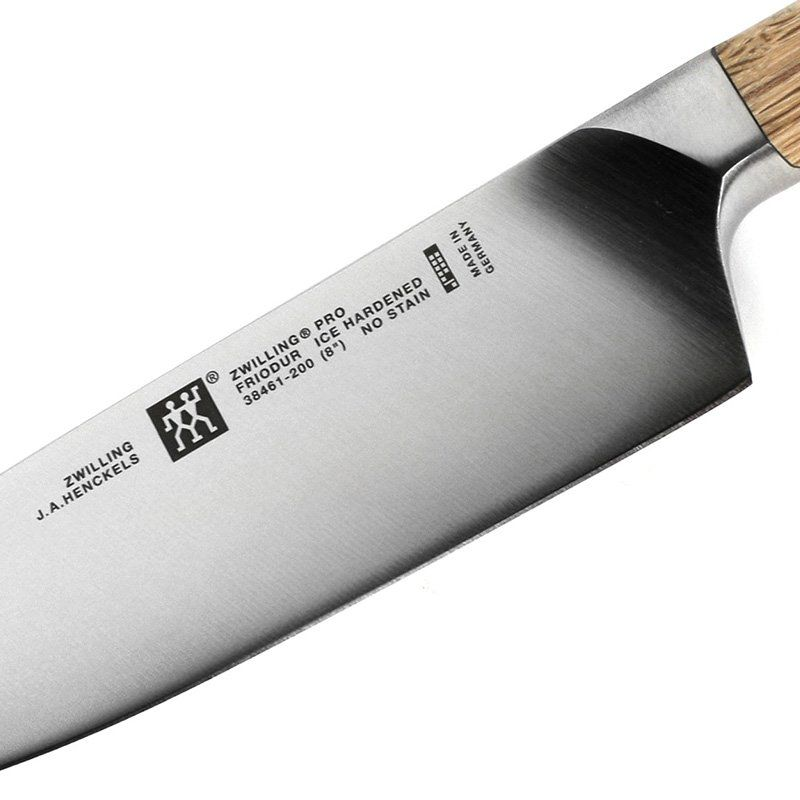 "Faca Zwilling Pro Wood Chef 8"" 38461-201"