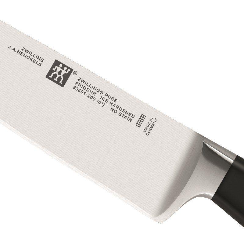 "Faca Zwilling Pure Chef 8"" 33601-201"