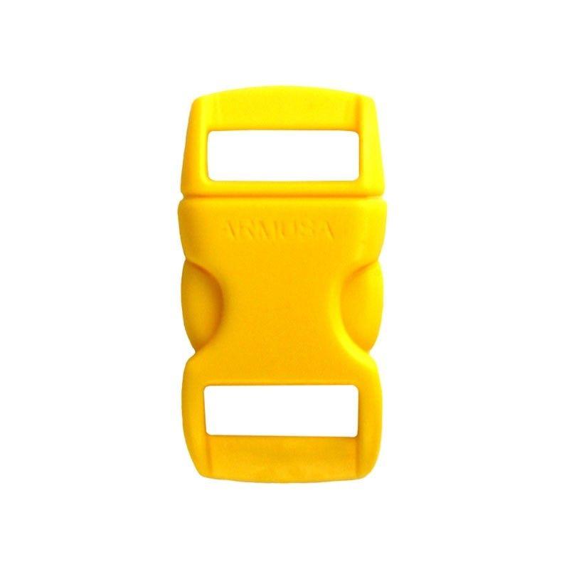 Fivela amarela para pulseira de paracord PB06
