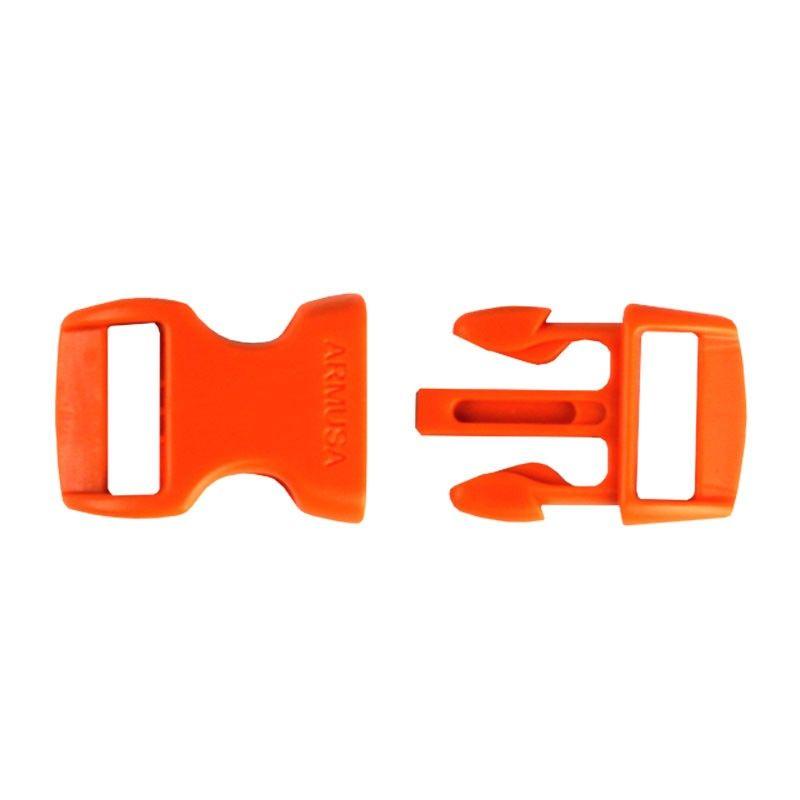 Fivela laranja para pulseira de paracord PB04
