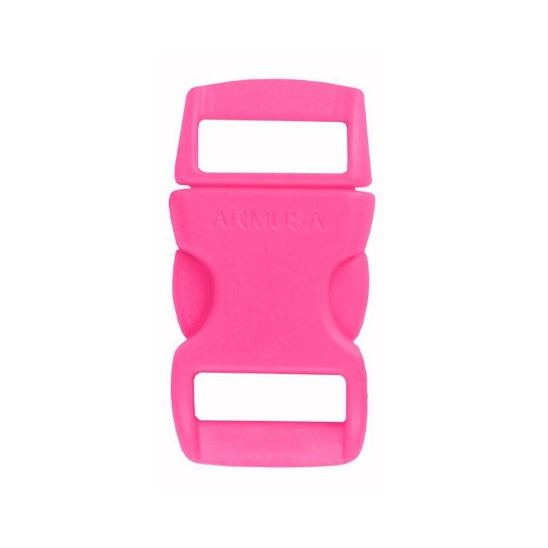 Fivela pink para pulseira de paracord PB07