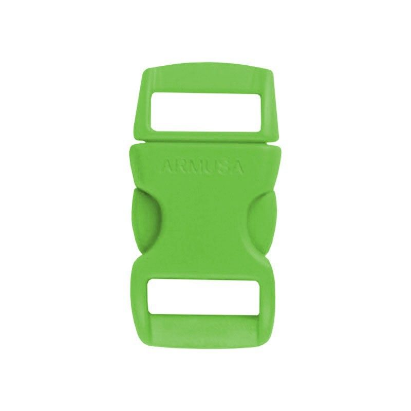 Fivela verde para pulseira de paracord PB08