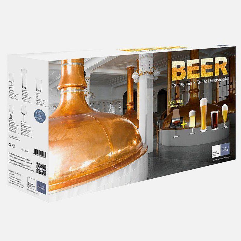 Jogo de Taças de Cristal Schott Zwiesel para Degustação de Cervejas 119080