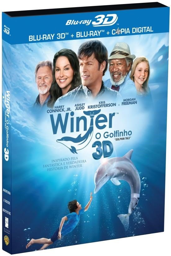 Winter: o Golfinho - Blu-ray 3D + Blu-ray  - FastGames