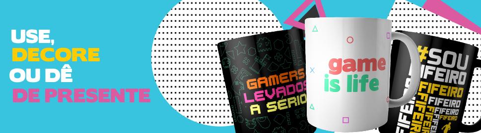 Canecas Gamer - FastGames