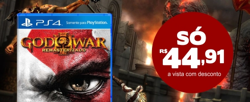 God of War 3 Remastered - PS4