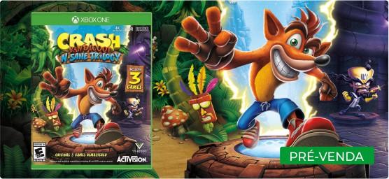 Crash Bandicoot N. Sane Trilogy (Pré-venda) - XBOX One