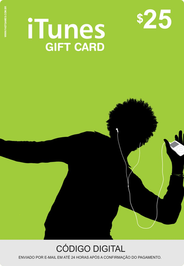 Cartão Itunes $25 Gift Card  - FastGames