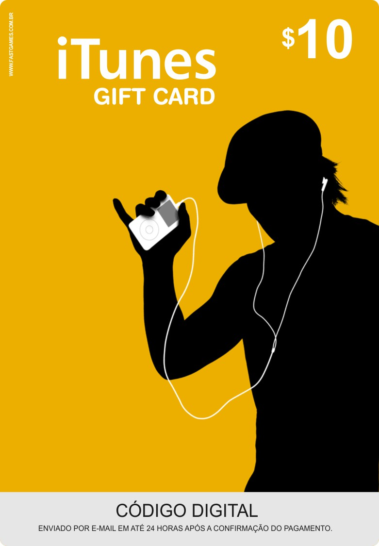 Cartão Itunes $10 Gift Card  - FastGames