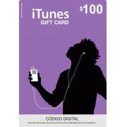 Cartão Itunes $100 Gift Card
