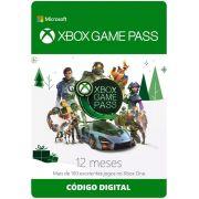Cartão Assinatura Xbox Game Pass (12 Meses) - XBOX One