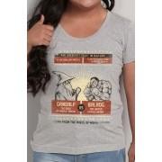 Camiseta The Greatest Fight In History - Feminina