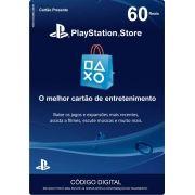 Cartão PSN Brasil R$60