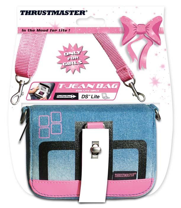 Bolsa T-Jean Bag 2 (Thrustmaster) - DSi / DS Lite  - FastGames