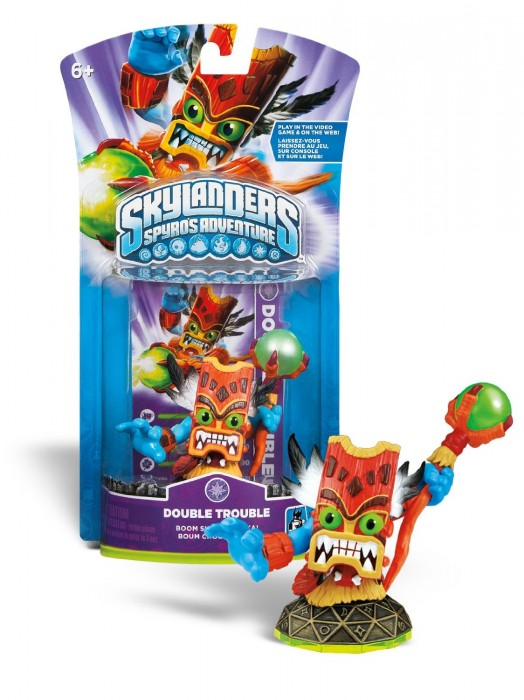 Skylanders Spyro´s Adventure: Boneco Double Trouble  - FastGames
