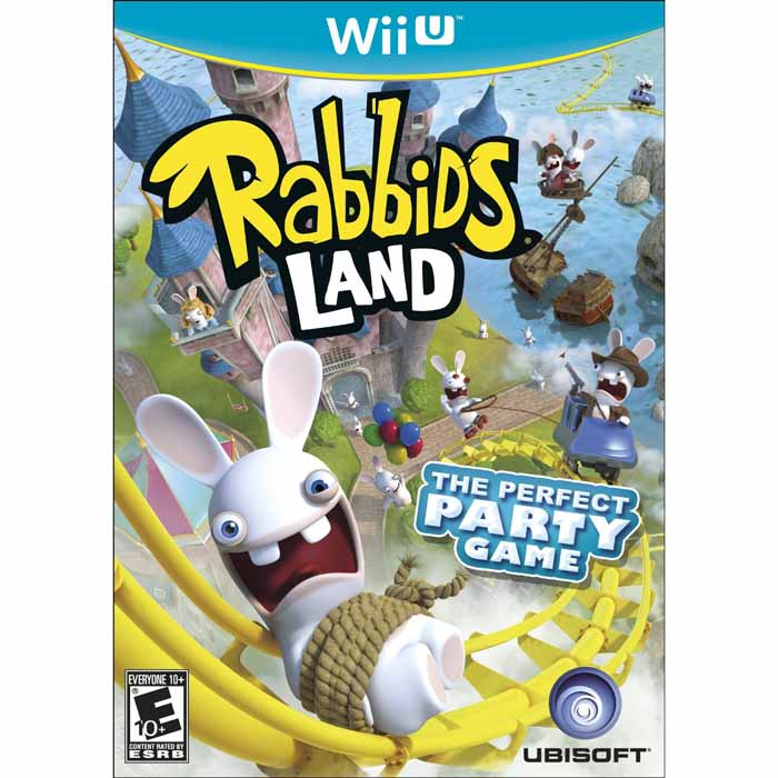 Rabbids Land (Seminovo) - Wii U