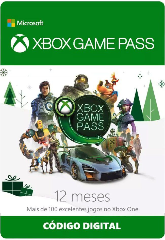 Assinatura Xbox Game Pass (12 Meses) - XBOX One